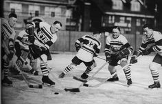 Detroit Cougars in 1928. Detroit entered the NHL in 1927 as the Detroit Cougars. In 1930, the name was changed again to the Falcons until the Red Wings name finally stuck in 1932.