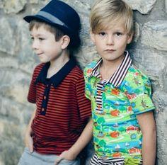 Meine Lieblingskleider - coole jongensshirt (98 tot 134)