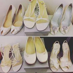 S A L E: Just a couple of shoe options for only $25 (Limited sizes and styles!!) #cicadabridal #yourdressmadehere #seattlebride #seattle #pnwbride #pnw #shoes #weddingshoes #sale