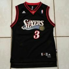 ADIDAS Philadelphia 76ers Allen Iverson NBA Jersey