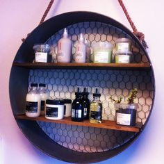 new Davines Oi at my Salon. Love the new display shelves