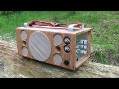 Homemade portable Bluetooth Speaker / Boombox - YouTube