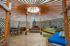 Check out this awesome listing on Airbnb: MONGOLIAN YURT at Terra Perma - Yurts for Rent in Harrington