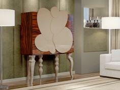 Meuble bar. Mod. ROSTOCK Chair, Furniture, Home Decor, Solid Wood, Turned Wood, Rostock, Stool, Interior Design, Home Interior Design