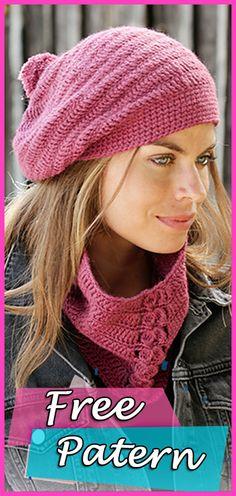 Crochet Free Pattern Neck Warmer and Hat  crochet  freepattern   crochetpatterns  crocheting Cappucci 5e720f29f12c