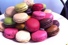 The Parisians are famous for Patisserie and we check out where to go to get mouth-watering croissants and delicate macaroons. Desserts Français, French Desserts, French Food, Delicious Desserts, Yummy Food, French Sweets, French Bakery, French Macarons Recipe, French Macaroons