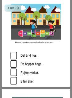 Swedish Language, Educational Activities For Kids, School Ideas, Preschool, Reading, Ideas, Studio, Photo Illustration, Reading Books