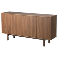 IKEA STOCKHOLM Sideboard - walnut veneer (also comes in white)