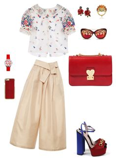 """Fabulous"" by qinxiyan on Polyvore featuring Tome, Gucci, Valentino, Dolce&Gabbana and Matthew Williamson"