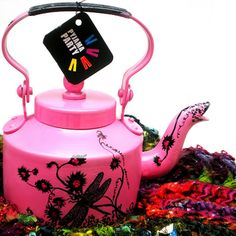 Pink Blossom Kettle just at $63