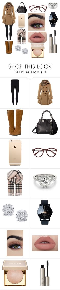 """""""Untitled #274"""" by brianawest ❤ liked on Polyvore featuring Johnston & Murphy, Vince Camuto, Burberry, Effy Jewelry, Stila and Ilia"""