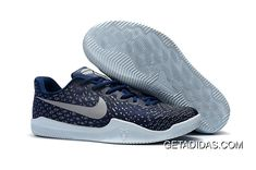 39d12f41a41 Nike Kobe 12 Mentality 3 Blue Gery White TopDeals