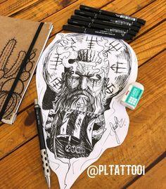 Viking Rune Tattoo, Viking Tattoo Sleeve, Norse Tattoo, Wiccan Tattoos, Tribal Sleeve Tattoos, Inca Tattoo, Viking Tattoo Design, Best Sleeve Tattoos, Celtic Tattoos