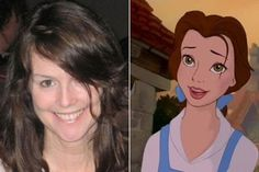 Sherri Stoner - Belle | Here Are The Real Life People Your Favorite Disney Characters Are Modeled After