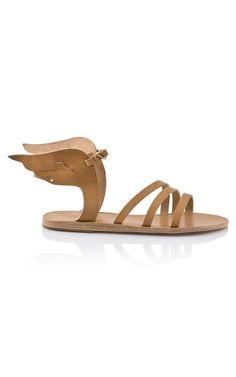 Shop Ancient Greek Ikaria Sandal - Ready-to-Wear Trunkshow at Moda Operandi Crazy Shoes, Me Too Shoes, Shoe Boots, Shoe Bag, Shoes Heels, Ancient Greek Sandals, Mode Style, Percy Jackson, Choo