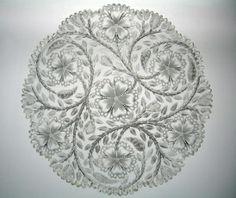 american brilliant cut glass patterns | The Brilliant Period of American Cut Glass - Mint Museum