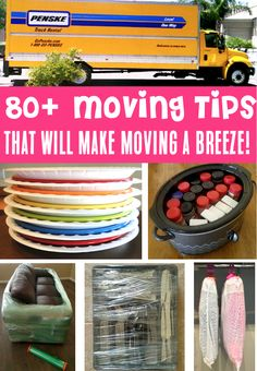 Moving Tips Packing Houses and Apartment Ideas to make your next move run smoother than ever! Have you tried any of these tricks yet? Moving House Tips, Moving Day, Moving Tips, Moving Hacks, Packing To Move, Packing Tips, Moving Boxes, Have You Tried, Frugal Tips