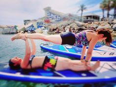 Sup Yoga sea yoga acro yoga