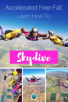 How to Skydive Solo with Accelerated Freefall (AFF). Learn to Skydive!  #skydiving #skydive #AFF #skydiver #howto #inspirational #california #howtoskydivesolo