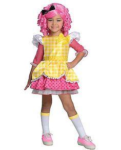 Kids Crumbs Sugar Cookie Costume - Lalaloopsy - Spirithalloween.com