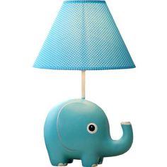 Circo Ceramic Table Lamp & Shade - Elephant (with bulb) | Ceramics ...