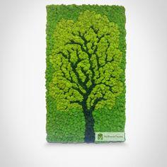 Moss Wall Art, Moss Art, Elephant Room, Vertical Garden Wall, Green Office, Diy Crafts Hacks, Wooden Clock, Flower Decorations, Greenery