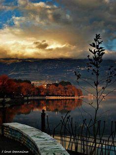 Ioannina, Greece Greece Vacation, Greece Travel, Greek Flag, Thessaloniki, Archaeological Site, Amazing Destinations, Santorini, Beautiful Places, Amazing Places