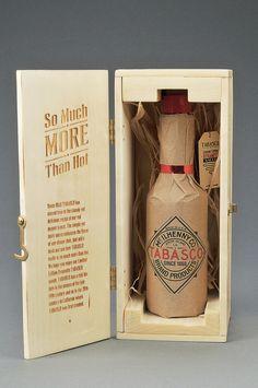Tabasco packaging