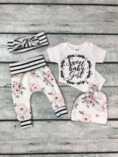 1235533b54f8e Baby girl coming home outfit/newborn girl little sister outfit/ organic  cotton little sister outfit. Toddler Boy ...