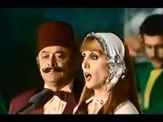 دبكة لبنان - فيروز و نصرى شمس الدين .حديقة الأندلس 1976