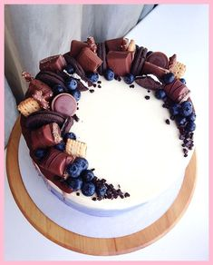All Time Easy Cake : I have customers, over and over again ., All Time Easy Cake : I have customers, over and over again . Cake Cookies, Cupcake Cakes, Food Cakes, Cake Recipes, Dessert Recipes, Chocolate Sweets, Chocolate Cupcakes, Chocolate Ganache, Drip Cakes