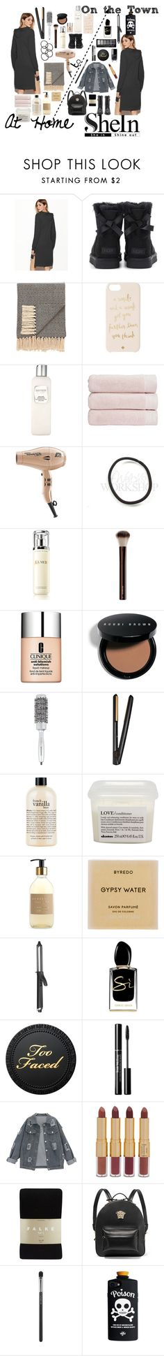 """""""SheIn Hoodie Contest"""" by ittybittyrsunshine ❤ liked on Polyvore featuring UGG, Jaipur, Kate Spade, Laura Mercier, Christy, La Mer, Clinique, Bobbi Brown Cosmetics, Bio Ionic and GHD"""