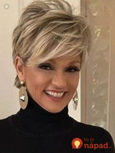 Love this short hair cut – Aimer cette coupe de cheveux courts – Messy Short Hair, Short Hairstyles For Thick Hair, Haircut For Thick Hair, Short Hair Styles Easy, Best Short Haircuts, Medium Hair Styles, Curly Hair Styles, Short Hair Over 50, Hairstyles For Over 50