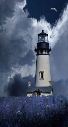 4246 by peter holme iii on 500px. ||  ♡ My daughter loves lighthouses. This would be perfect as inspiration to create one from clay! ♥A