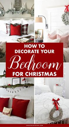 25 Christmas Bedroom Decor Ideas for a Cozy Holiday Bedroom!