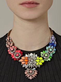 Somewhere, over the rainbow necklace. Jewelry Box, Jewelry Accessories, Fashion Accessories, Jewelry Necklaces, Jewelry Making, Jewellery, Bullet Jewelry, Geek Jewelry, Gothic Jewelry