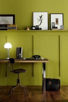 Couleur peinture maison : pourquoi on aime le vert