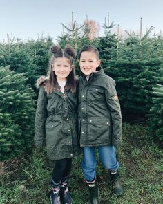 Little Joule Wax Jackets Christmas Tree Farm, Christmas Holidays, British Garden, Wax Jackets, Military Jacket, Photoshoot, Outfits, Instagram, Style