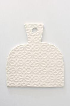 Origami Platter - White