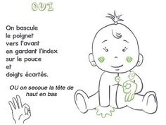 Start using thise easy ways to teach your baby some simple sign language skills and finally understand what goo-goo gah-gah really means. Means Of Communication, Sign Language Phrases, Baby Sign Language, French Language Learning, Funny Socks, Got Him, Signs, Kids House, Little Ones