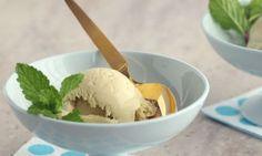 Homemade Mint Ice Cream