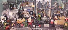 Turtle Lair (Teenage Mutant Ninja Turtles) Custom Diorama / Playset