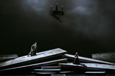 Die Liebe der Danae (Richard Strauss) from Deutsche Oper Berlin. Productions by Kirsten Harms. Sets by  Bernd Damovsky.