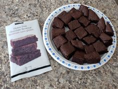 Chocolate Bliss Brownie Mix (Pkg of Decadent, rich chocolate flavour & smooth fudgy texture. Made with chickpea flour, wholesome organic cocoa & cane sugar. Brownie Sans Gluten, Gluten Free Brownies, Chocolate Brownies, Chocolate Flavors, Fudge, Gluten Free Chocolate, Calories, Cocoa, Bliss