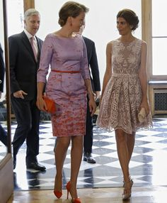 Belgian Royals meets President Mauricio Macri and Juliana Awada