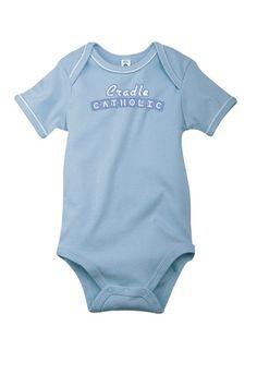 Cradle Catholic Onesie