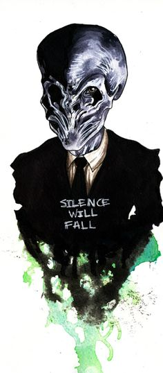 Doctor Who Challenge- Day 5. Favourite Alien. The Silence. They are-wait, what was I talking about? Xxx