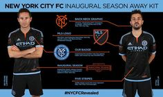 It's official NYCFC Revealed: the complete look. On-sale early 2015.