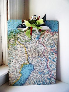 fun idea for a clipboard