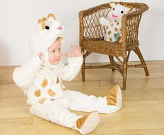 Sophie la girafe All-In-One Plush Romper with Feature Hat